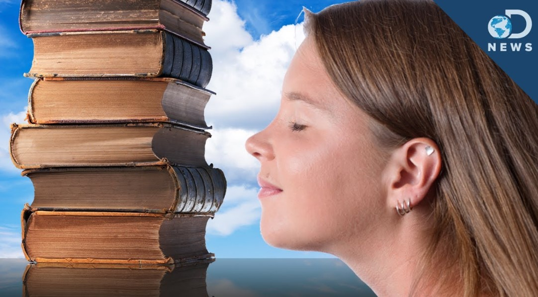 Why Do We Love Library and the Smells of Old Books?
